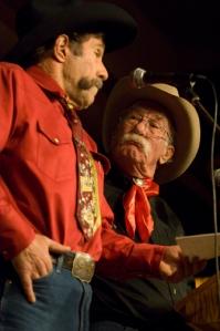 Paul Zarzyski and Wally McRae by Jessica Brandi Lifland_sm