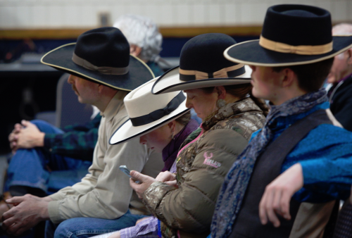 An Elko County ranch family…with hats. 78516d39b751